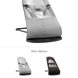 Likew new BabyBjorn Bouncer Mesh - Silver/White $155 for Sale in Darien, CT