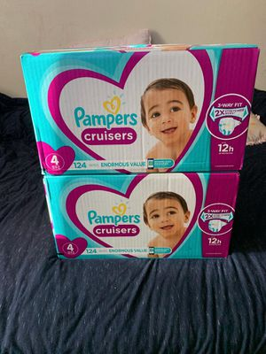 Pampers cruiser size 4 for Sale in Los Angeles, CA