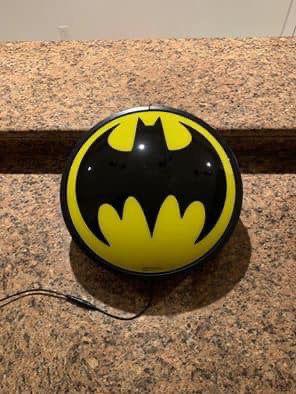Batman Symbol Wall Light for Sale in Fort Wayne, IN