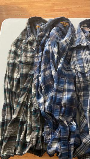 Lucky & Jachs Girlfriend flannels for Sale in Azusa, CA