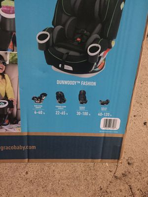 BRAND NEW GRACO 4EVER 4-IN1 CAR SEAT 10 YEARS 1 CAR SEAT for Sale in Grand Prairie, TX