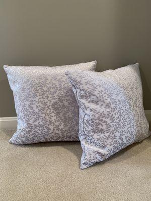 Decor Pillow - silver for Sale in Gainesville, VA