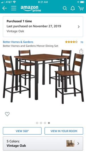 Better Homes dining table for Sale in Clovis, CA
