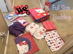 Full Size Hello Kitty Bedding Set for Sale in Chula Vista, CA