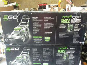 Go 20 inch cordless lawn mower 56 volt for Sale in Phoenix, AZ