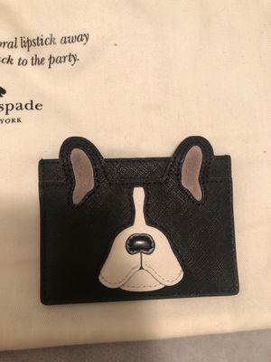 KATE SPADE BULLDOG LIMITED EDITION CARD HOLDER for Sale in Aventura, FL
