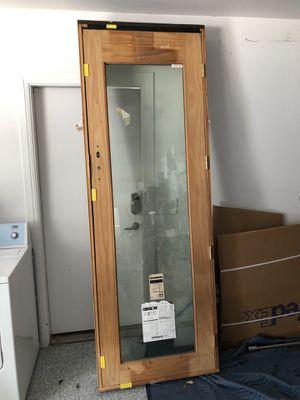 "Pella 96"" x 32"" (8'x2.5') wood and aluminum clad exterior door for Sale in Austin, TX"