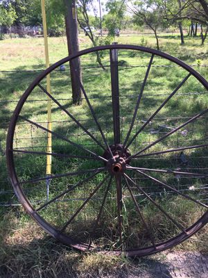 Antique wagon wheels for Sale in Dallas, TX