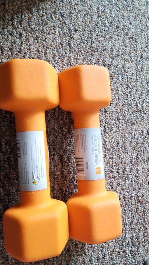 New pair of 8 lbs CAP neoprene dumbbells for Sale in Medford, MA
