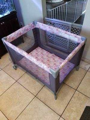 Cosco Funsport Play yard pop up crib for Sale in Phoenix, AZ