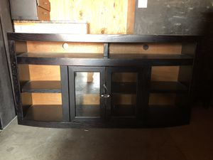 Tv console and matching double bookshelves for Sale in San Diego, CA