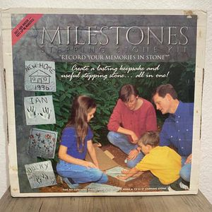 Milestones Stepping Stone Kit - Create a 12x12 stepping stone memories for Sale in Bellevue, WA