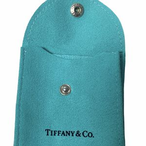 TIFFANY & CO. Blue Jewelry Bag Pouch Snap Closure for Sale in Beaverton, OR