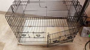 Bird or critter cage 23x19.5x14 with cleaning tray, 5 doors on is quite large in the front for Sale in Tacoma, WA
