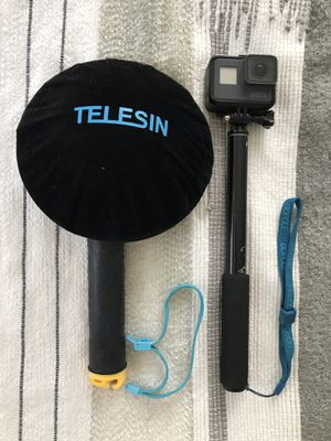 GoPro 6 with Telesin acrylic bubble for Sale in San Diego, CA