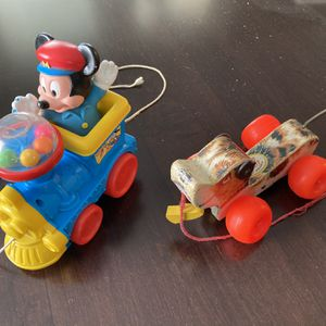 Two Vintage Pull Toys for Sale in Washington, IL