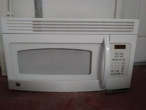 GE over the range microwave for Sale in Miami, FL