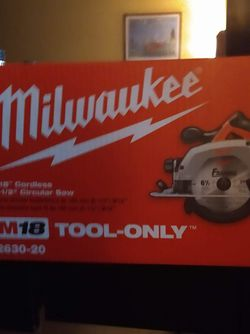 Brand New Milwaukee Saw for Sale in Fort Worth,  TX