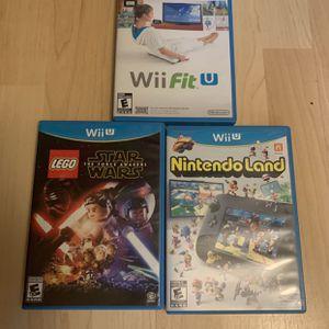 Nintendo Wii U Games $10 Each for Sale in Portland, OR