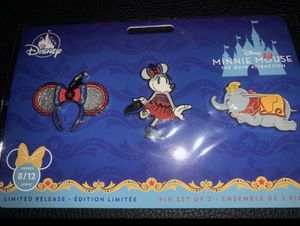The main attraction Disney pin set (Dumbo) for Sale in Las Vegas, NV