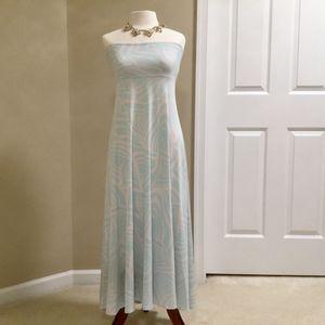 Light Blue And White Lularoe Dress/Skirt for Sale in Centreville, VA