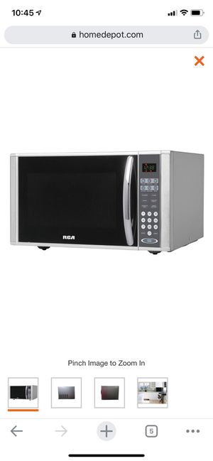 RCA 1.1 cu. ft. Countertop Microwave in Stainless Steel for Sale in Cleveland, OH
