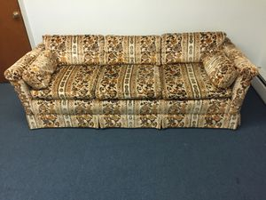Couch, love seat, three bookshelves, three upholstered chairs. for Sale in Woodbridge Township, NJ