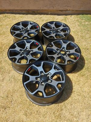 5 new jeep Rubicon wheels for Sale in Glendale, AZ
