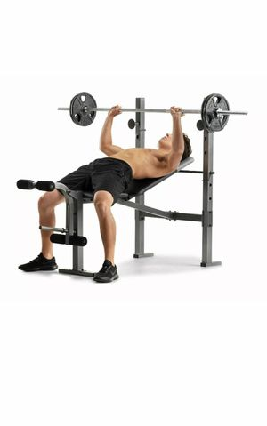 SHIPS TODAY! Weider XR 6.1 Multi-Position Weight Bench with Leg Developer NEW for Sale in Tallmansville, WV