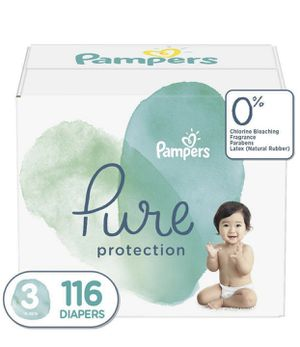 Pampers Pure diapers size 3 and 4 for Sale in San Diego, CA