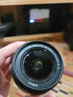 Canon Zoom Lense EF-S mount 18-55mm for Sale in Lynnwood,  WA