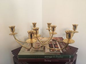 Pair - Brass Candelabras for Sale in St. Petersburg, FL