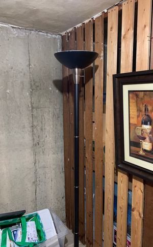 Tall floor lamp for Sale in St. Louis, MO