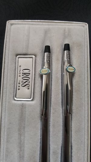 Vintage cross pen and pencil set for Sale in Upland, CA