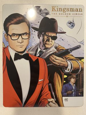 Kingsman 2 Bluray Dvd Steelbook -please read for Sale in Centennial, CO
