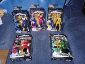 Zeo power rangers set 25th anniversary gamestop exclusive set for Sale in Florissant, MO