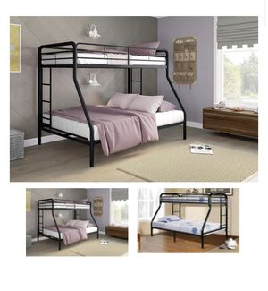 Bunk bed with twin over full. INCLUDES TWIN MATTRESS for Sale in UNIVERSITY PA, MD