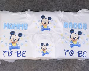 Baby shower baby Mickey custom shirt for Sale in Fresno, CA