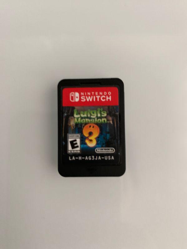 Nintendo Switch Luigis mansion 3 game, Nintendo switch games