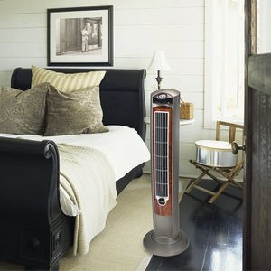 """Lasko Wind Curve Portable Electric 42"""" Oscillating Tower Fan with Fresh Air Ionizer, Timer and Remote Control for Sale in Houston, TX"""