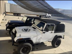 90 Jeep Wrangler 5 speed 4x4 for Sale in Ontario, CA