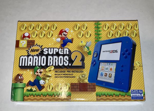 Nintendo 2DS with Super Mario Bros. 2 Pre-installed