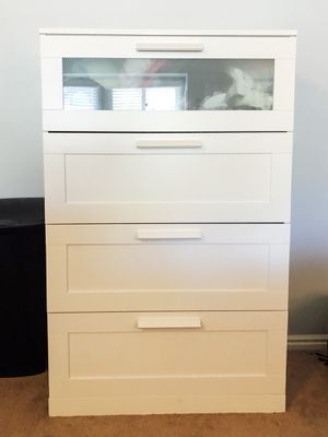 IKEA white 4-drawer dresser for Sale in Midway, UT