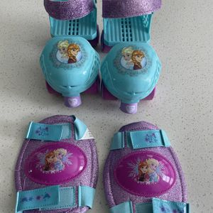 Frozen Rollerskates Fits Toddlers 5 To 12 Shoe Size for Sale in Kissimmee, FL