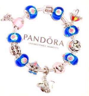 Iconic Pandora 925 Dumbo The Elephant Charm Bracelet for Sale in Tulalip, WA