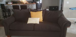 Doubled Stuff Brown Sofa Set for Sale in Decatur, GA