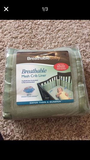 Crib liner to protect baby for Sale in San Diego, CA