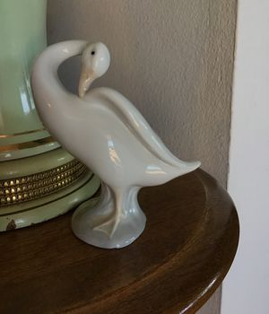 Lladro long neck Goose/Swan, Hand Made in Spain. Excellent used condition. No Cracks or Chips. for Sale in Vista, CA