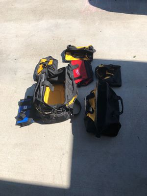 Assortment of tool bags for Sale in Bremerton, WA