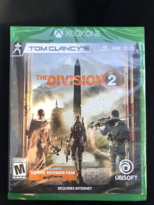 BRAND NEW Tom Clancy's The Division 2 XBox One Game for Sale in Virginia Beach, VA